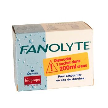 Fanolyte Poudre réhydratation 10sachets