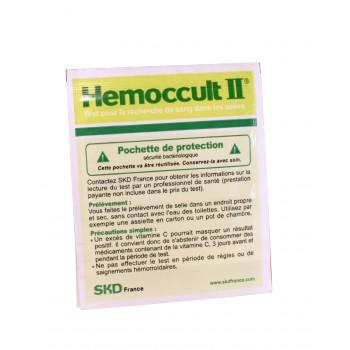 Hemoccult 2 - bandelette réactive