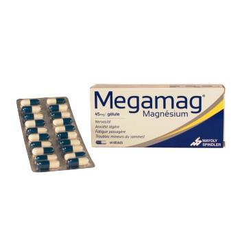 Megamag 45mg 60 gélules