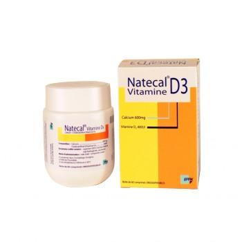 Natecal Vitamine D3 60cpr