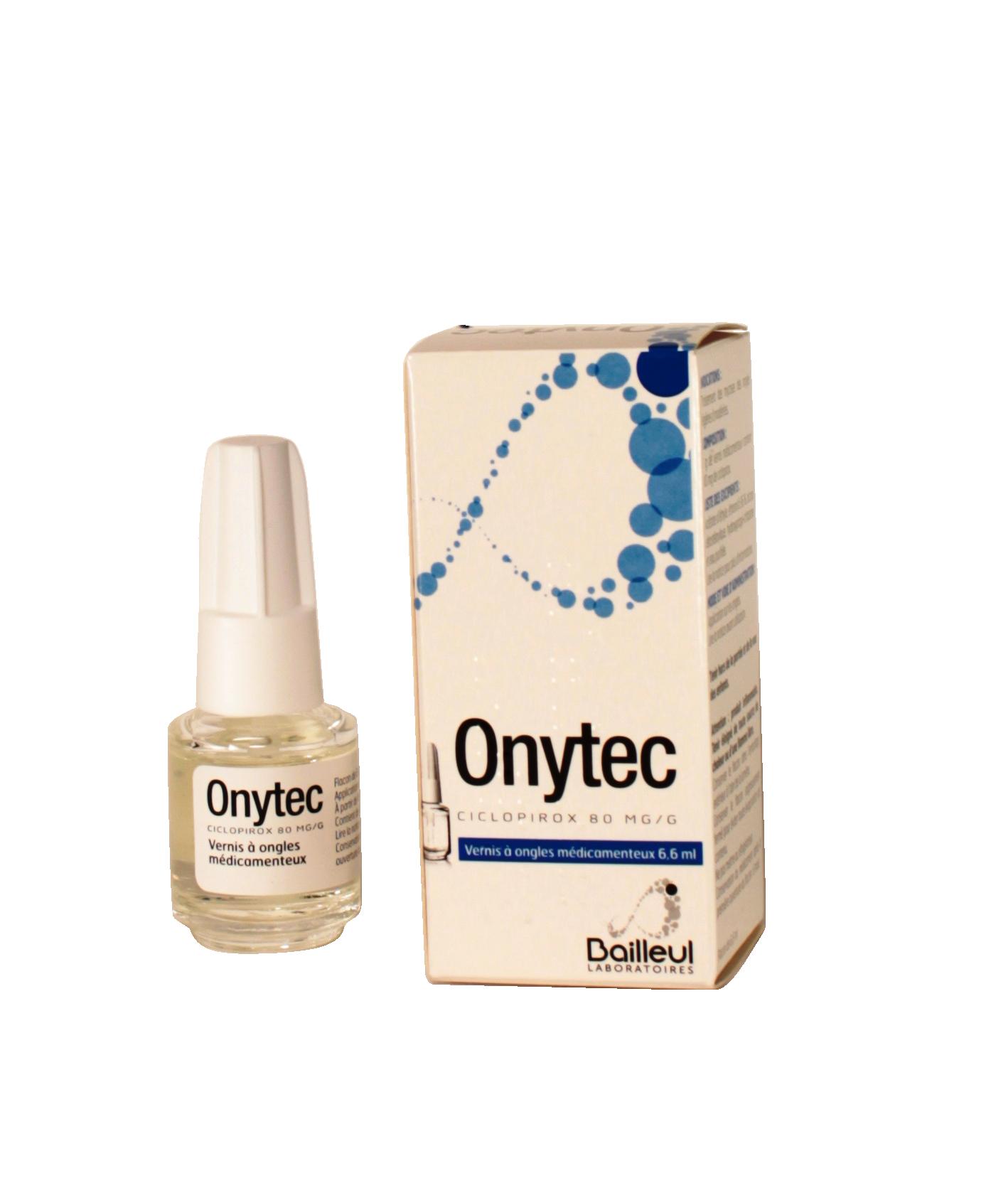 Onytec Vernis Bailleul Illicopharma Mycoses 6 6ml Médicament QshdCrtx