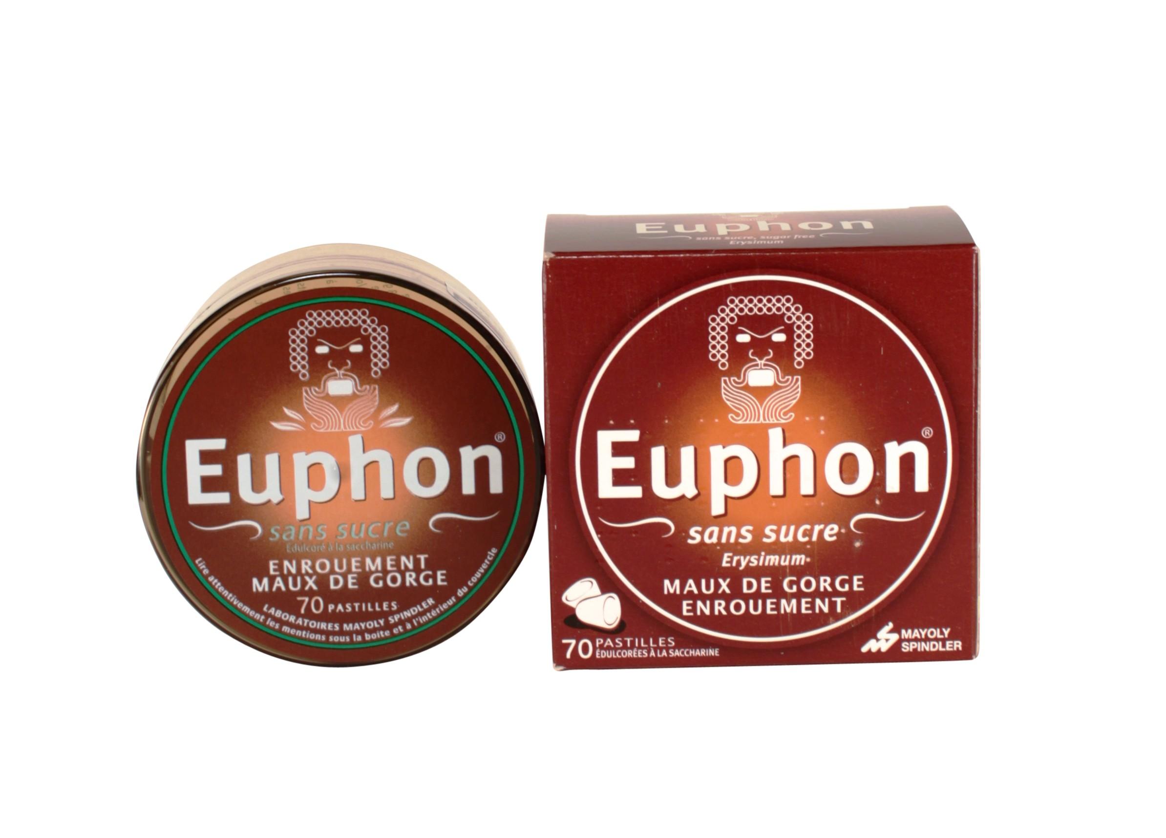 Euphon pastilles, Médicament Maux de gorge - Pharmacie