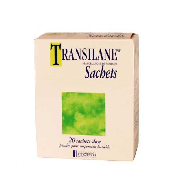 Transilane 20 sachets, Innotech, Médicament Constipation