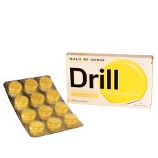 Drill pastilles Citron Menthe