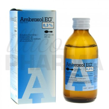 Ambroxol EG 3 mg/ml flacon 180ml