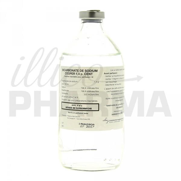 Bicarbonate de sodium cooper 1 4 500ml liquide e pharmacie illicopharma - Bicarbonate de soude ou sodium ...