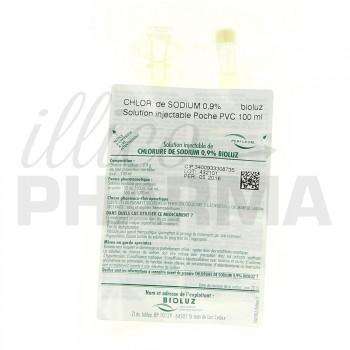 Chlorure de sodium Bioluz 0,9% 100ml