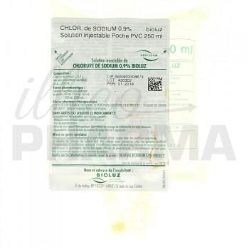 Chlorure de sodium Bioluz 0,9% 250ml