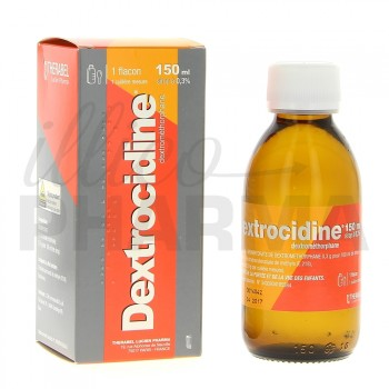 dextrocidine 0 3 sirop 150ml toux s che pharmacie en ligne illicopharma. Black Bedroom Furniture Sets. Home Design Ideas