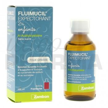 Fluimucil 2% enfant 100ml