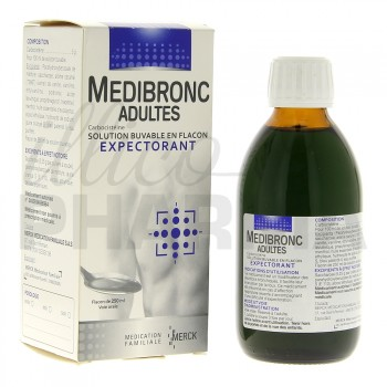 Medibronc adulte 250ml