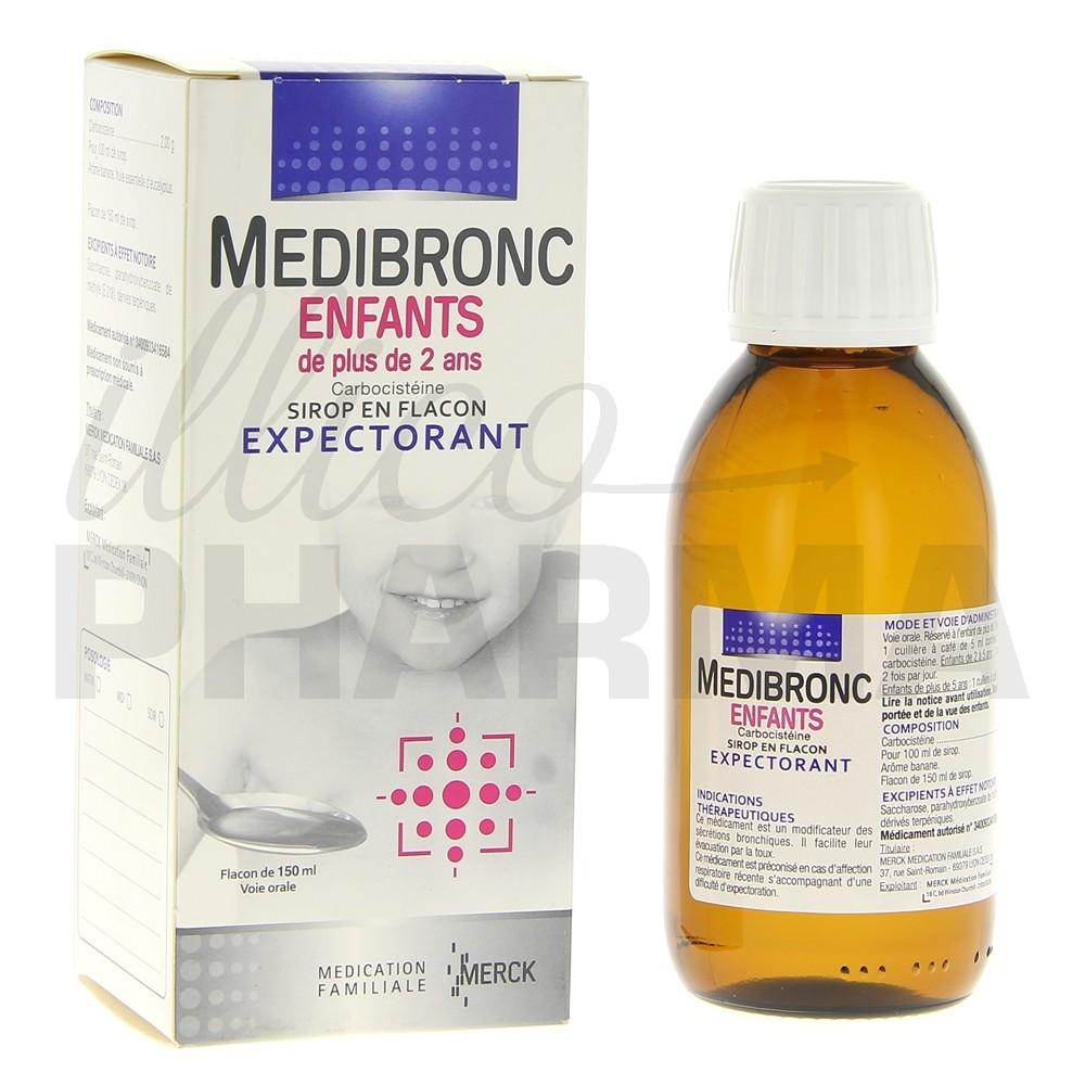 medibronc enfant 150ml toux grasse pharmacie en ligne illicopharma. Black Bedroom Furniture Sets. Home Design Ideas