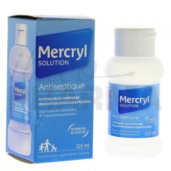 Mercryl 125ml, Désinfectant, savon antiseptique, e