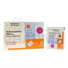 Acetylcysteine Ratiopharm 200mg...