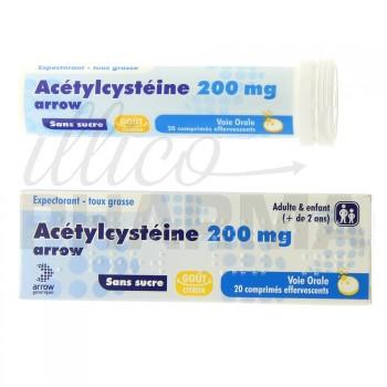 Acetylcysteine Arrow 200mg 20cpr