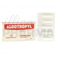 Algotropyl 10 suppositoires
