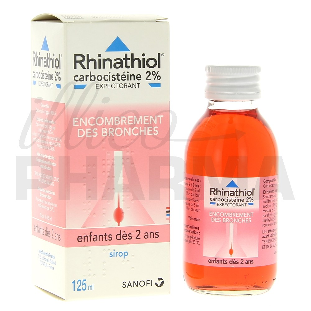 rhinathiol 2 sirop enfant 125ml toux grasse e pharmacie. Black Bedroom Furniture Sets. Home Design Ideas