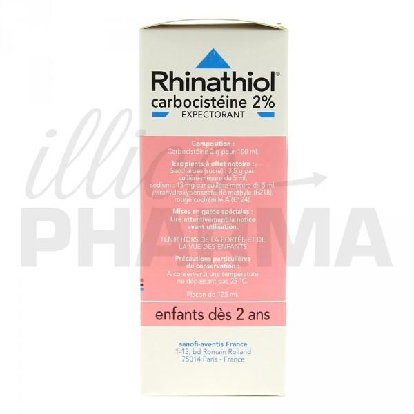 rhinathiol 2 sirop enfant 125ml toux grasse e pharmacie illicopharma. Black Bedroom Furniture Sets. Home Design Ideas