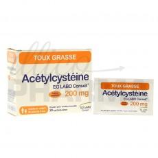 Acetylcysteine EG 200mg 20sachets