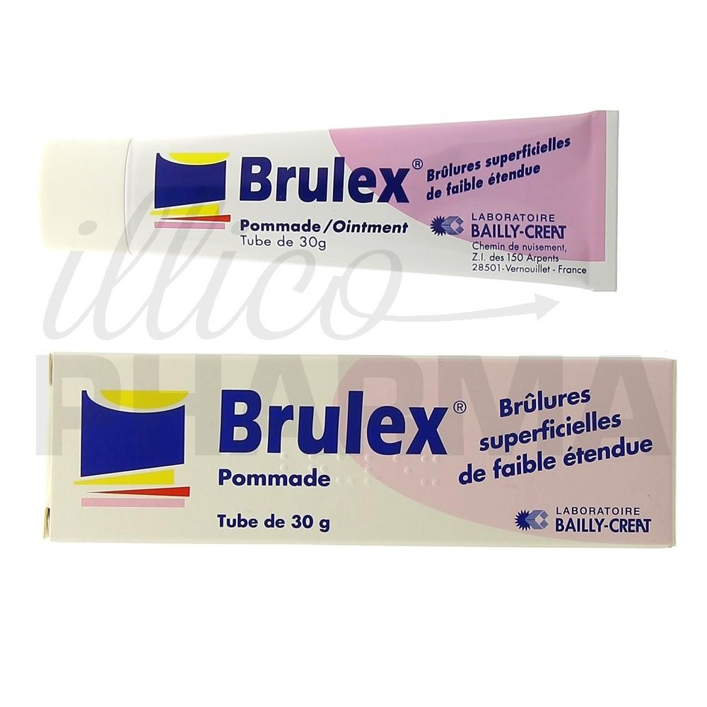 Brulex pommade 30g, Soleil, brûlures, Pharmacie en ligne