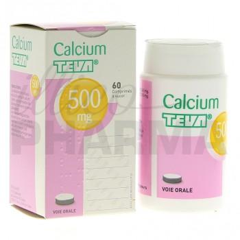 Calcium Teva 500mg 60cpr