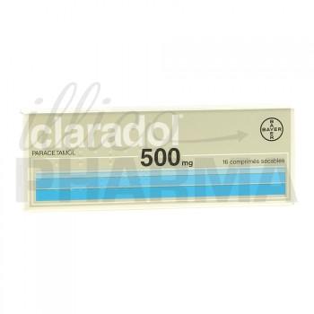 Claradol 500mg 16Cpr séc