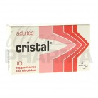 Cristal Suppositoire adulte