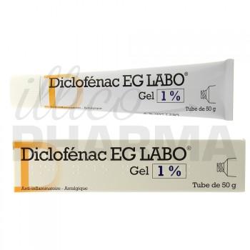Diclofenac EG 1% gel 50g
