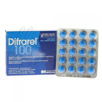 Difrarel 100mg 20cpr