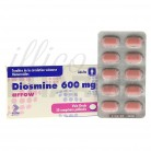 Diosmine Arrow 600mg 30cpr