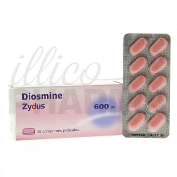 Diosmine Zydus 600mg 30cpr