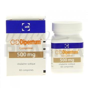 Dipentum 500mg 60 gélules