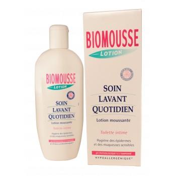 Lotion moussante gynécologie 500ml Biomousse