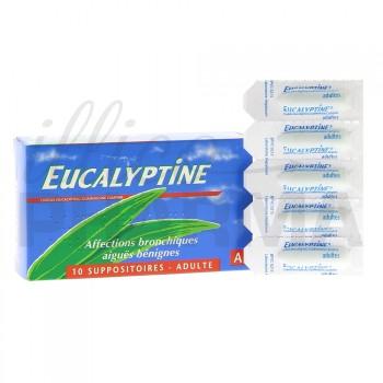 Eucalyptine 10 suppositoires adulte