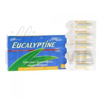 Eucalyptine 10 suppositoires enfant