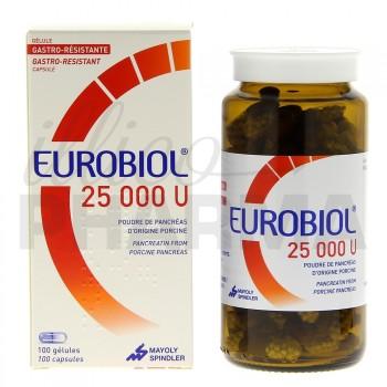Eurobiol 25000U 100gélules, Digestion difficile, e