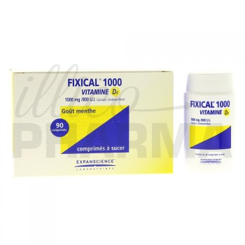 Fixical Vitamine D3 1000mg/800UI 90cpr