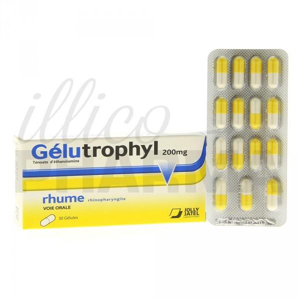 gelutrophyl 200mg 30g lules rhume pharmacie en ligne illicopharma. Black Bedroom Furniture Sets. Home Design Ideas