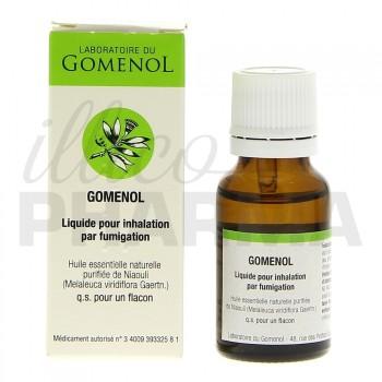 Gomenol Liquide pour inhalation par fumigation, Rhume, e