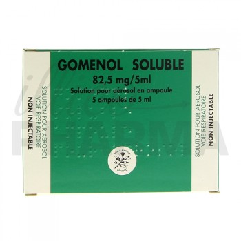 Gomenol soluble 5Amp/5ml