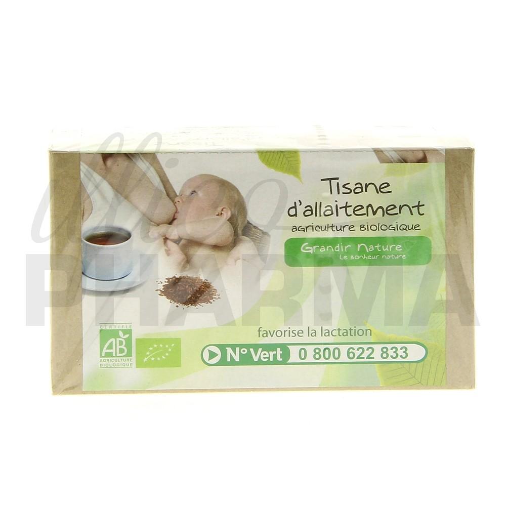 Grandir Nature Tisane allaitement - Pharmacie en ligne