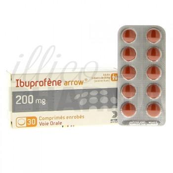 Ibuprofène Arrow 200mg 30cpr