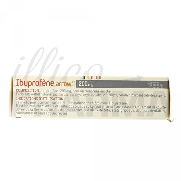 Ibuprofene Arrow / Prednisolone dopage effets