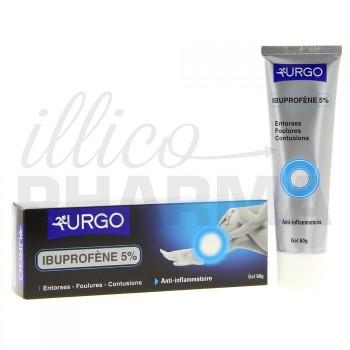 Ibuprofène Urgo 5% Gel 60g