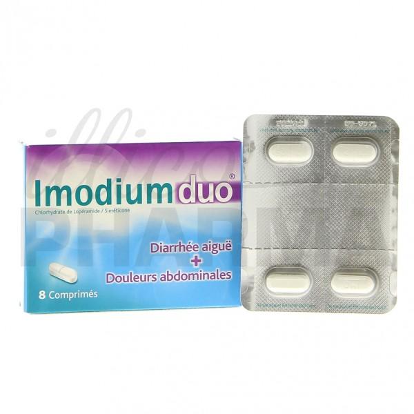 imodiumduo 8cpr diarrh e pharmacie fran aise en ligne. Black Bedroom Furniture Sets. Home Design Ideas