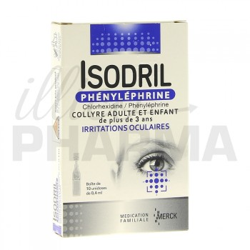 Isodril Phenylephrine Collyre 10unid/0,4ml