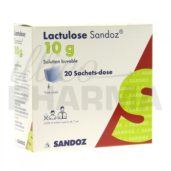 Lactulose Sandoz 10g 20sachets