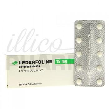 Lederfoline 15mg 30cpr