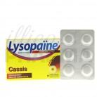 Lysopaïne cassis x18