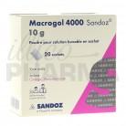 Macrogol 4000 Sandoz 10g 20Sachets